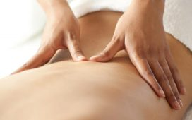 how to do back massage
